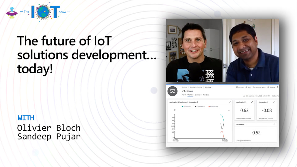 The future of IoT solutions development… today!