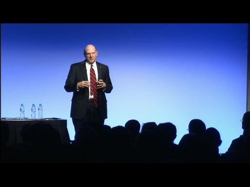 Steve Ballmer - Anywhere, Anytime: The New World of Doing Business