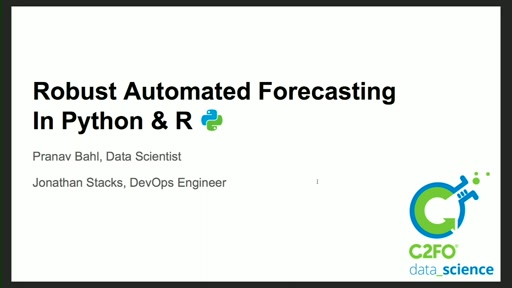 Robust Automated Forecasting in Python and R