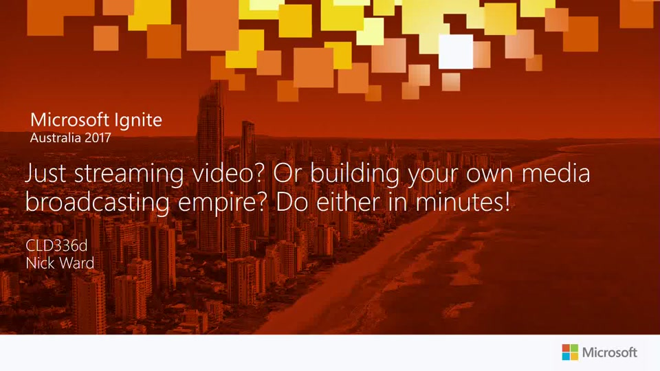 Just Streaming Video? Or Building Your Own Media Broadcasting Empire? Do either in minutes!