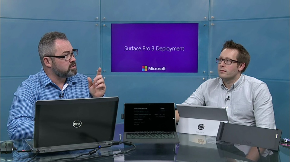 (Module 4) Surface Pro 3 hardware specifics – Drivers, weird PXE type stuff