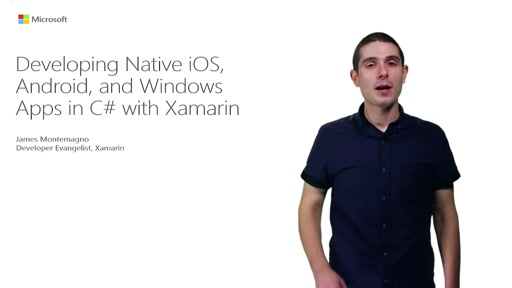 Developing Native iOS, Android, And Windows Apps In C# With Xamarin And Visual Studio 2015