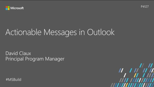 Actionable Messages in Outlook