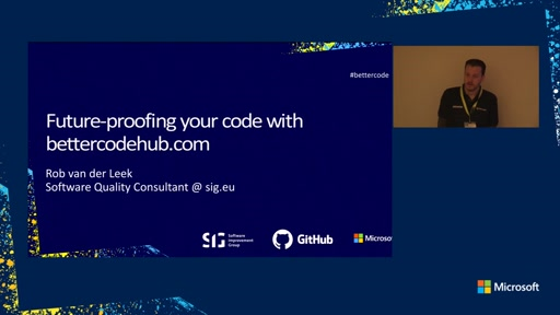 Future-proofing your code with BetterCodeHub.com