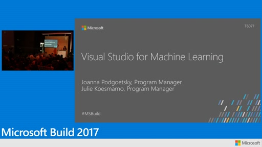 Using Visual Studio for Machine Learning