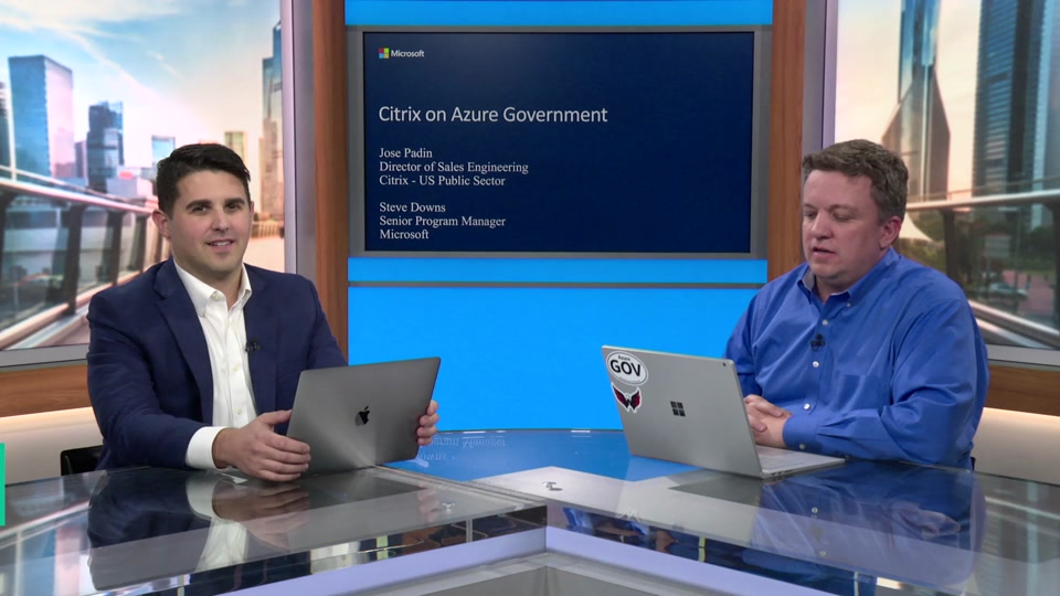 VDI with Citrix on Azure Government