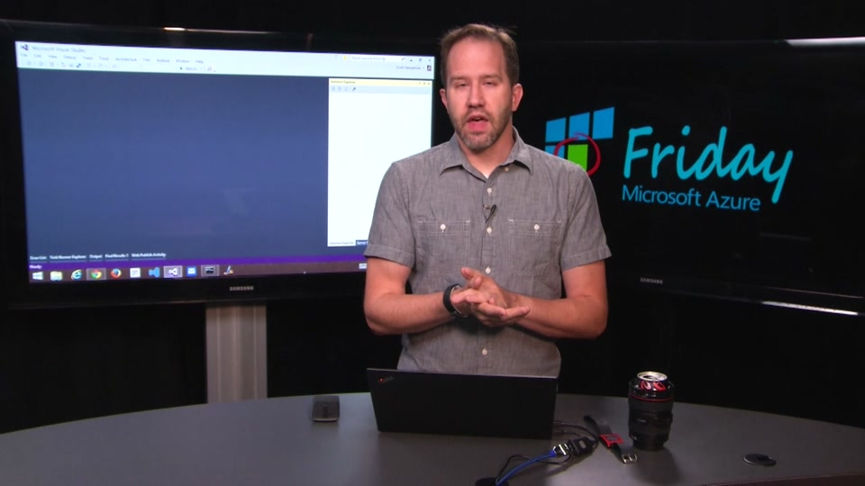 Azure Web App Log Streaming with Scott Hanselman