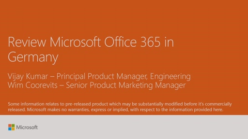 Review Microsoft Office 365 in Germany