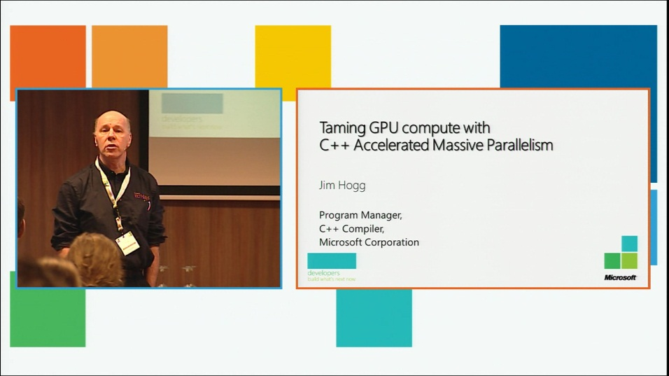 Taming GPU compute with C++ AMP