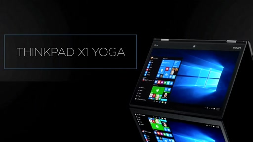 The Lenovo X1 Yoga:  First in Market Convertible with OLED Display