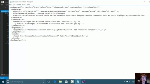 Manipulate Visual Studio Extensions