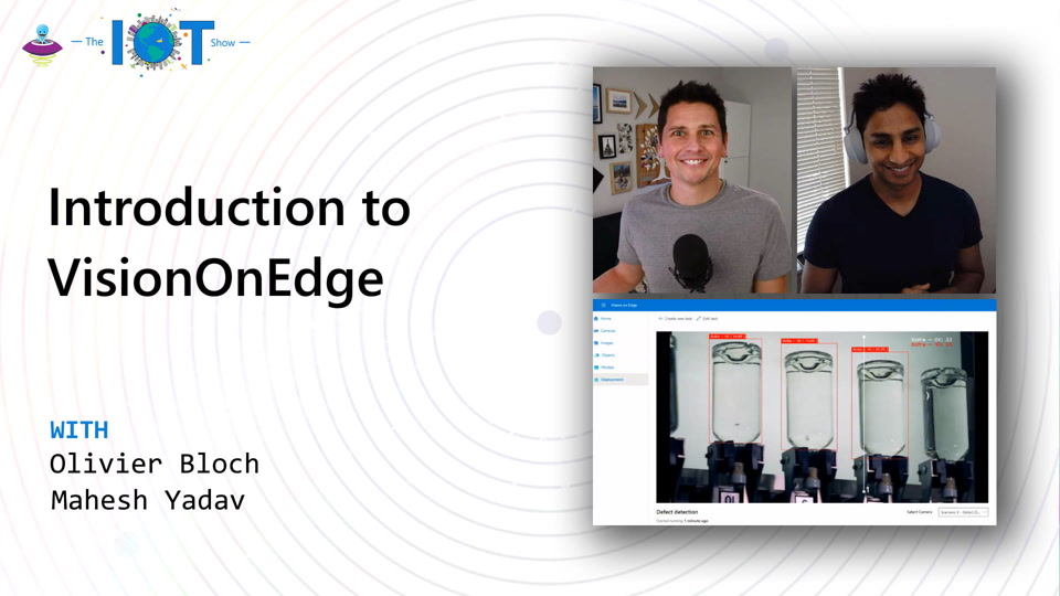 Rapidly move your Vision AI project to production with VisionOnEdge