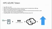 HPE Azure Token Offer Helps SMB's Implement Hybrid Cloud