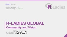 R-Ladies Global Community