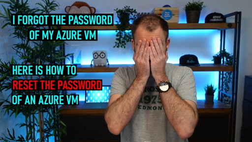 Reset Password of an Azure Virtual Machine VM
