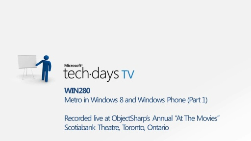 WIN280 - Metro in Windows 8 and Windows Phone (Part 1) LIVE Q&A with Bruce Johnson and Atley Hunter