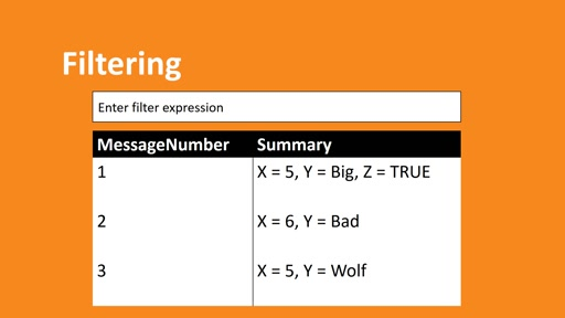 Filtering Basics with Message Analyzer