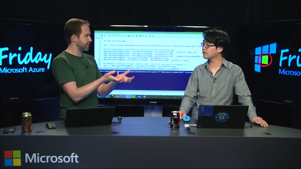 Azure PowerShell 101 - Managing Azure Storage from the Command-Line