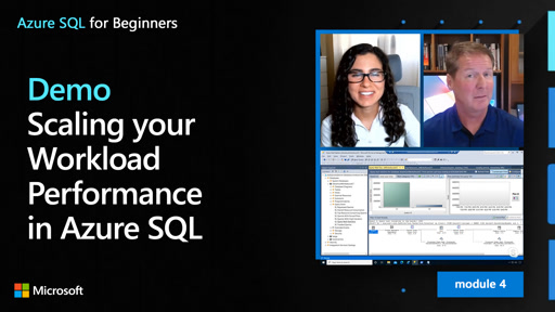 Demo: Scaling your Workload Performance in Azure SQL (40 of 61)
