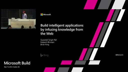 Build intelligent applications by infusing knowledge from the web