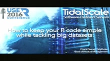 How to keep your R code simple while tackling big datasets