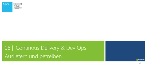 06 | Continous Delivery & Dev Ops
