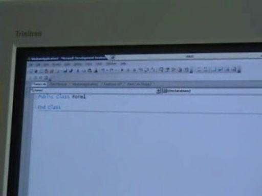 Amanda Silver - Demonstration of code separation in next version of Visual Basic