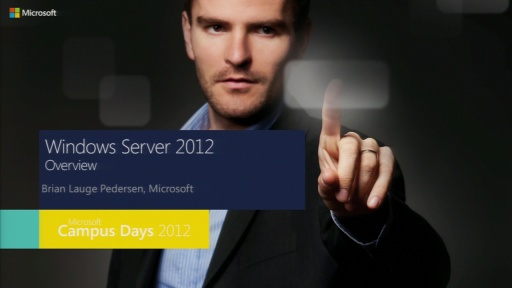 Windows Server 2012 Overview - State of the union