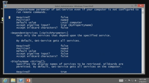 Getting Started with PowerShell 3.0: (02) The help system