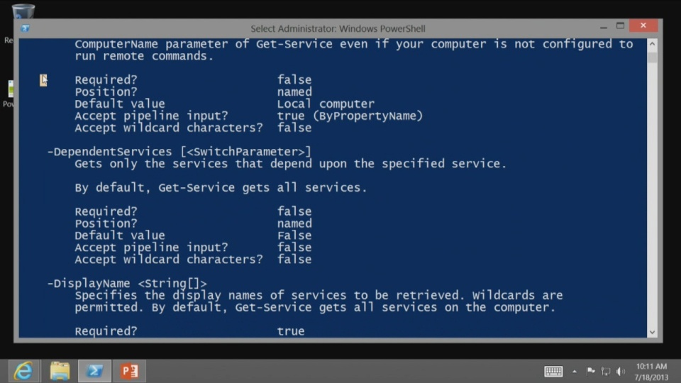 Getting Started with PowerShell 3 0: (01) Don't fear the