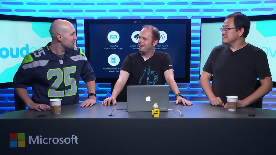 Episode 219: Visual Studio Mobile Center with Thomas Dohmke