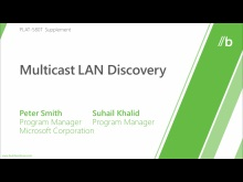 Multicast LAN Discovery
