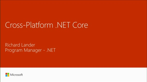 Explore the new, cross-platform .NET Core 1.0