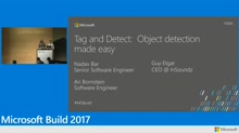Tag and detect: Object detection made easy