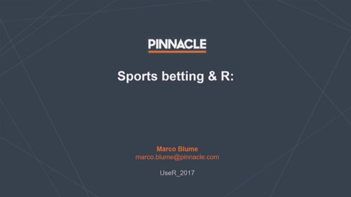 Sports Betting and R: How R is changing the sports betting world