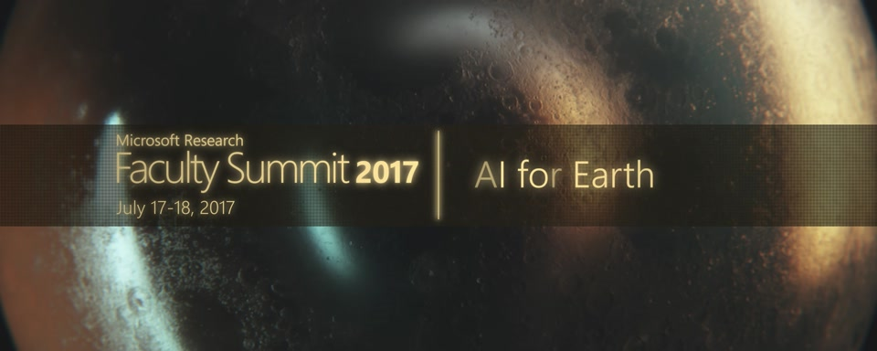 Video Abstract: AI for Earth