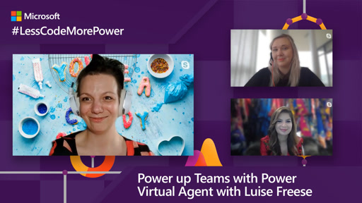 Power up Teams with Power Virtual Agent with Luise Freese