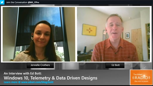 An Interview with Ed Bott: Windows 10, Telemetry & Data Driven Designs