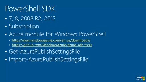 Úvod do Windows Azure PowerShell