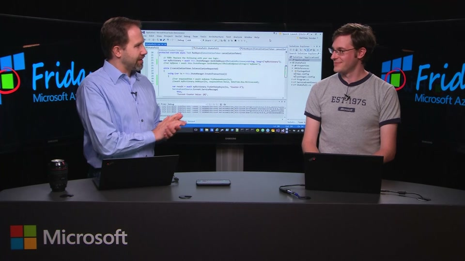 Azure Service Fabric 102 - Reliable Services