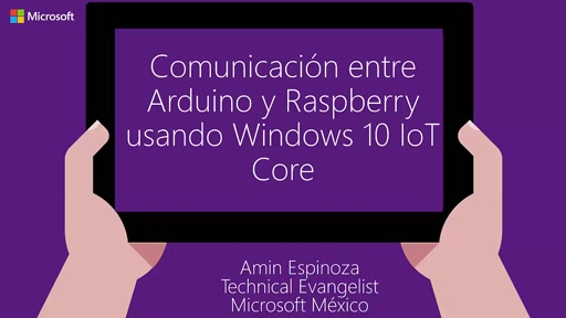 Comunicación I2C entre Arduino y Windows 10 IoT Core