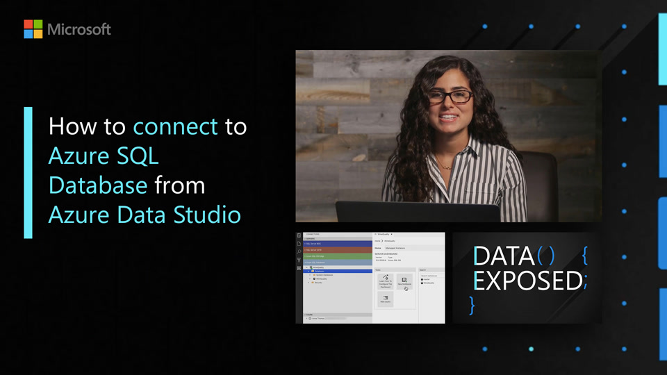 How to connect to Azure SQL Database from Azure Data Studio