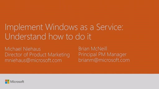 Implement Windows as a Service: understanding how to do it