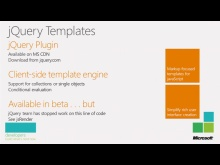 jQuery Templates and data-link