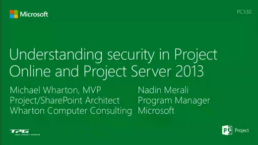 Understanding security in Project Online and Project Server 2013