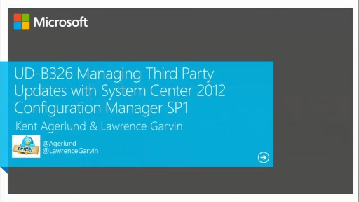 Managing Third Party Updates with System Center 2012 Configuration Manager SP1