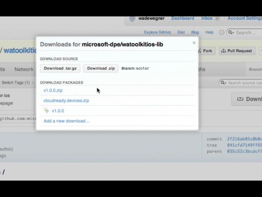 Getting Started with the Windows Azure Toolkit for iOS