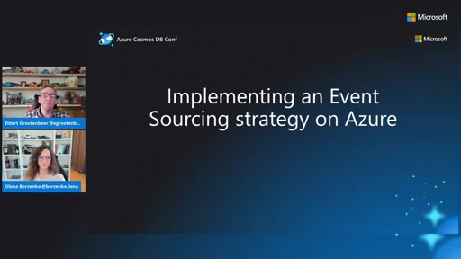 Implementing an Event Sourcing strategy on Azure