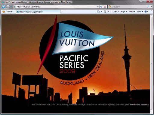 Silverlight 2 and the Louis Vuitton Pacific Series