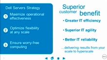 Dell: Customer Inspired, Dell Engineered Server Solutions